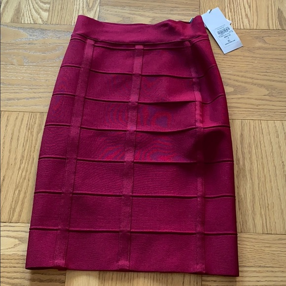 NW Herve Leger Paris bandage skirt, size S